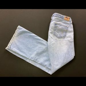 American Eagle stretch mid rise  flare jeans sz 10